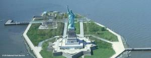 Encryption on the Statue of Liberty on Ellis Island