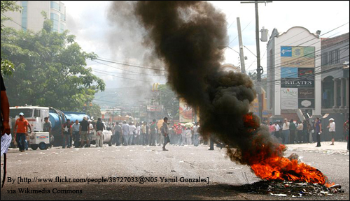 The 2009 Presidential coup in Honduras increased the cycle of poverty and violence.